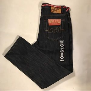 Dgk raw denim jeans NWT